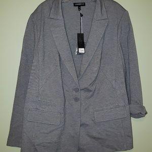 Lane Bryant NWT Blazer Gray Size 24